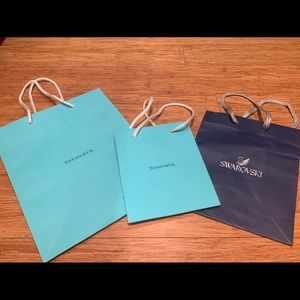 Tiffany's and Swarovski gift bag